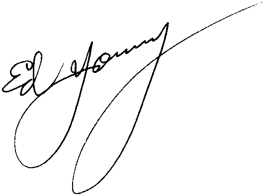 Dr. Ed Young signature